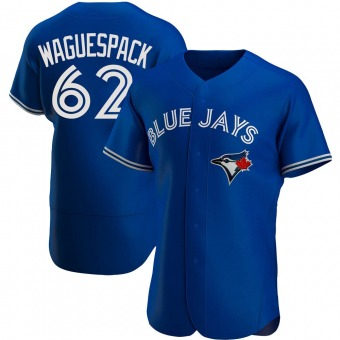 Authentic Toronto Blue Jays Jacob Waguespack Alternate Jersey - Royal