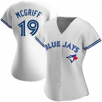 Women's Authentic Toronto Blue Jays Fred Mcgriff Home Jersey - White