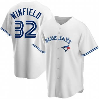 Youth Replica Toronto Blue Jays Dave Winfield Home Jersey - White